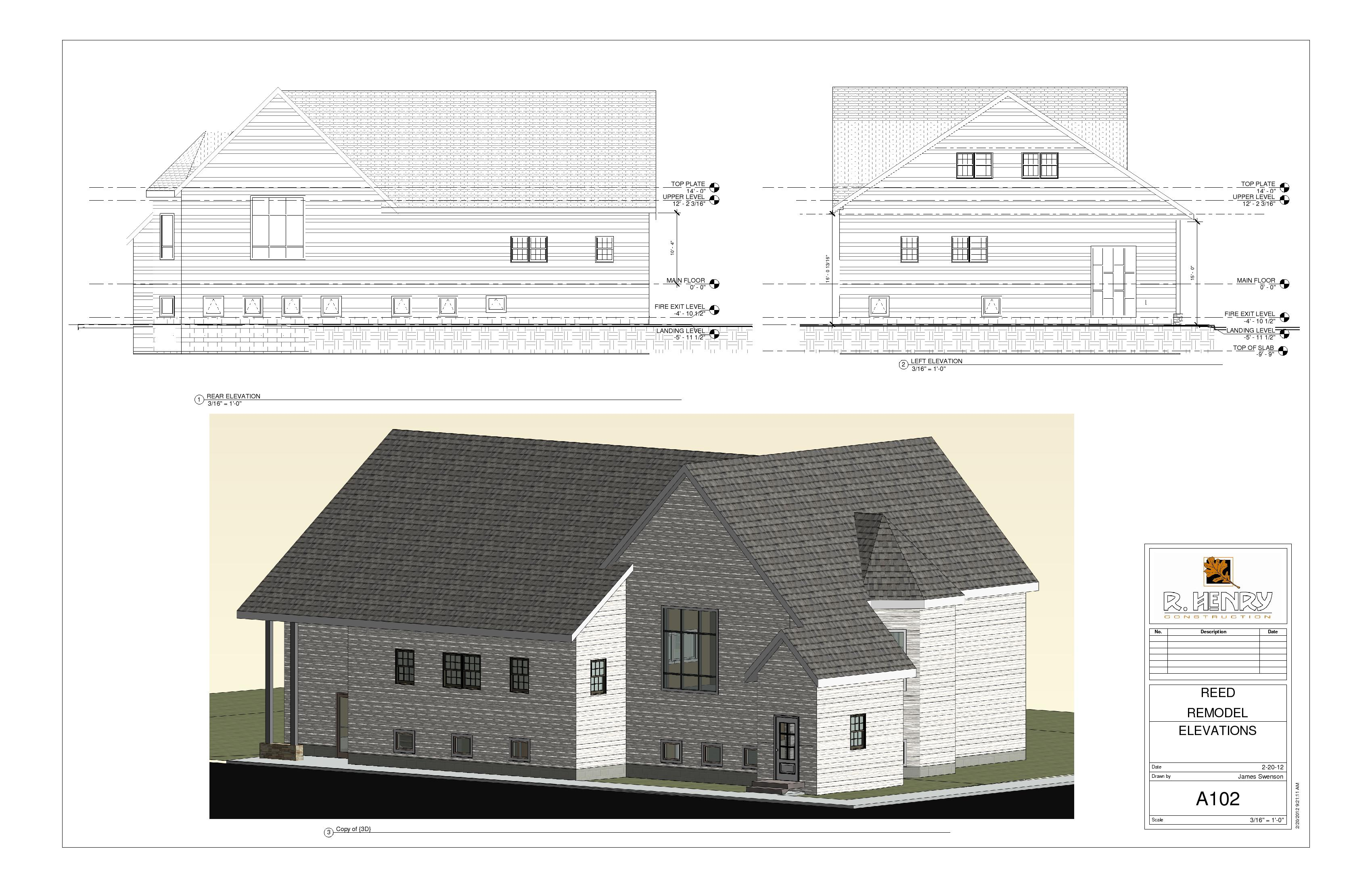 Elevation Plan Ne Demek : Ellendale project